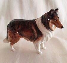 """Royal Doulton Rough Collie Champion Applause Early Hn 1058 7.5"""" Long Scarce"""