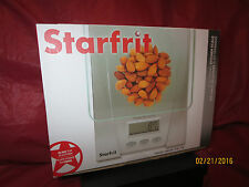 STARFRIT ELECTRONIC KITCHEN SCALE CAPACITY 5 kg/11 lb BRAND NEW FACTORY SEALED