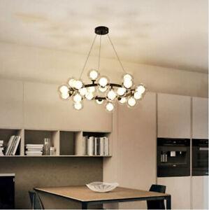 LED Modern Bubble Ceiling Light Molecular Glass Pendant Light Chandelier Lamp