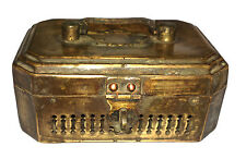An Attractive Indian Vintage  Brass made Paan Daan Betel Nuts Box Jewelry Box