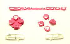 Tastatur Tasten Button Pad Set Rot für Sony PSP 1000 1004 Classic Fat Pink