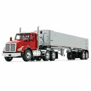Kenworth T880 East End Dump - Red/Silver - First Gear 1:50 Scale #50-3455 New!
