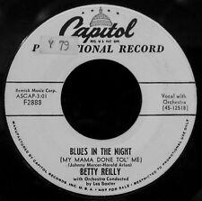 BETTY REILLY-Blues In The Night-The Peanut Vendor-MAMBO LATIN JAZZ R&B SHAKER