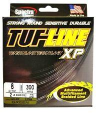 BRAID TUF-LINE XP 8lb green 300yards Spectra advanced multifilament line USA