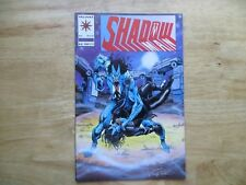 1993 VINTAGE VALIANT SHADOWMAN # 15 SIGNED BY TOM RYDER WITH COA
