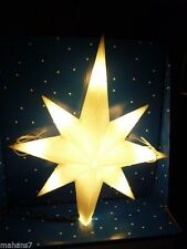 Led Star Tree Topper White/Glitter Sparkle, Warm White 11 inches