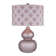 Dimond Ivybridge Ceramic Table Lamp in Lilac Luster D2528