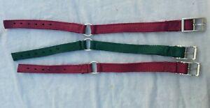 Center Ring Dog Collar 1'' Webbing 2 Ply USA Made  Hunting Dog Style