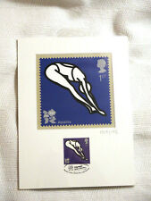 London 2012 Olympic/Paralymic Royal Mail STAMP PRINT ARTWORK AQUATICS  Ltd Ed