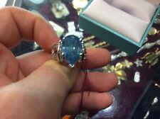 Magnificent Rare 8.03  blue Natural Diamond Tiffany Blue