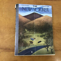 New Yorker Magazine November 20 1954 Complete 1955 Chevy Bel-Air Ad