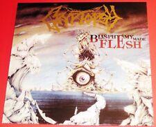 Cryptopsy: Blasphemy Made Flesh LP Vinyl Record + Poster 2016 Hammerheart UK NEW