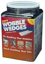 Soft Black Wobble Wedges - 300 Count - Restaurant Table Shims