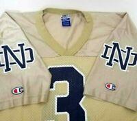 Vtg Champion Notre Dame Fighting Irish Football Jersey Size 40 M Joe Montana USA