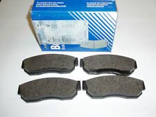 572206B Bendix Front Disc Pads Fits Nissan Sunny 1.3 1982 - 1991