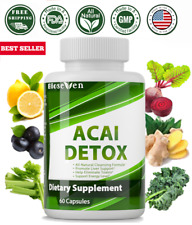 Detox Cleanse Super Formula All Natural Herbs Lose Weight Detox Liver and colon