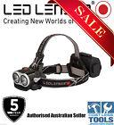 LED Lenser XEO19R 2000 Lumen Rechargeable Headlamp Black -7 Year Aussie Warranty