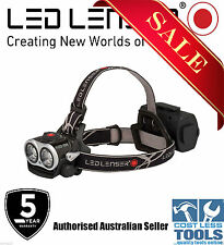 LED Lenser XEO19R 2000 Lumen Rechargeable Headlamp Black -7 Year Aussie Warranty