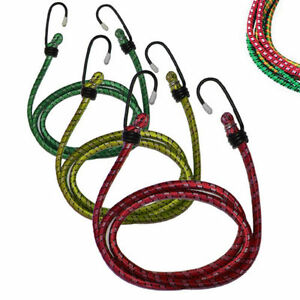 3X ELASTIC BUNGEE CORD STRAP ROPE LUGGAGE SUITCASE CAR ROOF RACK HEAVY DUTY