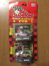 1997 Racing Champions 2 for 1 Edition #17 Darrell Waltrip #36 Derrike Cope 1:64
