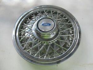 88-91 Ford LTD Crown Victoria Wire Spoke Wheel Hub Center Cap