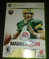 MADDEN 09 - XBOX 360 -COMPLETE WITH MANUAL - FREE S/H (F)