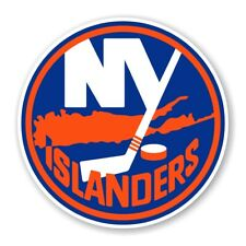 New York Islanders Round  Precision Cut Decal / Sticker