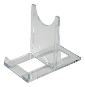 SS1 Blu-ray / DVD Steelbook Small Clear Plastic Display Stands (Pack of 10)
