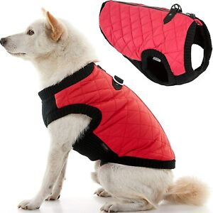 Gooby Fashion Dog Vest - Small Dog Sweater Bomber Dog Jacket Coat with D Ring Le