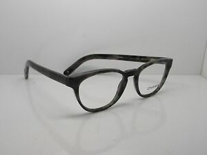 Chanel Womens CC 3237 1391 Grey Green Havana Eyeglasses Frame New Italy