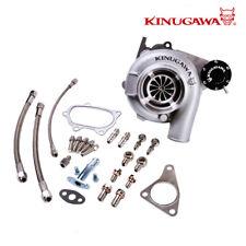 """Kinugawa Ball Bearing Turbo 4"""" GTX3076R fit SUBARU WRX STI 60/84Trim A/R .49"""