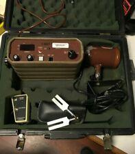 Vintage Decatur Electronics Speed Radar Detector Gun Decatur/Mvr 724 w/ case