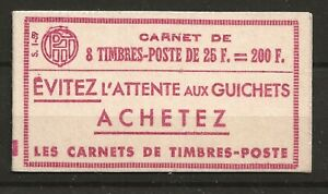 France 1959 200f booklet, u/m, (SG DB31). Cat £55