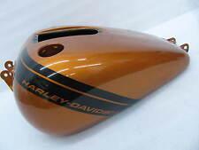 2014 Harley Davidson Dyna FXDF Fat Bob Gas Tank Amber Whiskey #10888