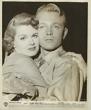 "PATRICIA BLAIR & JACK SERNAS in ""Jump into Hell"" Original Vintage Photo 1955"