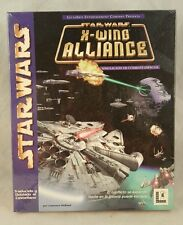 StarWars: X-Wing Alliance (1999) for PC Large Retail BIG BOX SEALED SPANISH VER