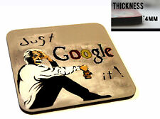 BANKSY JUST GOOGLE IT COASTER COASTERS MDF CORK TABLE TEA COFFEE DRINK TABLE MAT