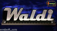 "LED LKW Truck Leuchtschild ""Waldi"" Ihr Kosename 12 o. 24V weiß ©faunz"