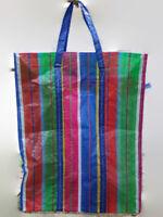Rainbow Green Blue Red Thai Shopping Bag Nylon Weaving Hand Carry Kitchen Market