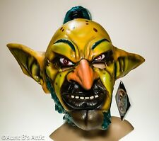 """""""World Of Warcraft"""" Dxl Goblin Mask Multi Colored Latex Mask W/ Synthetic Hair"""
