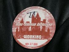 Trans Siberian Orchestra Working Pass Red Nov 27, 2005