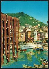 AD1532 Genova - Provincia - Camogli - Scorcio panoramico - Reti al sole