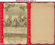 2681 SANTINO HOLY CARD GESù CRISTO EUCARESTIA  EB 183 FELICE L'ANIMA PALERMO