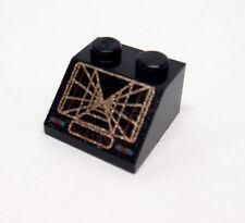 Lego Stein schwarz Dachstein bedruckt 3039ps1 aus Set Star Wars 7264 6212 7142