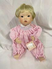 "1993 Ashton Drake ""All Gone"" Julie Good-Kruger Baby Talk Porcelain Doll"