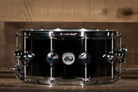 "DW 14"" x 6.5"" Black Nickel Over Brass Snare Drum, B-Stock"