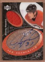 2003-04 Upper Deck Ice Authentics #IAJR Jeremy Roenick Auto