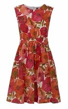 Knee-Length Summer/Beach Floral Tea Dresses