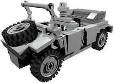 Instrucciones de construcción personalizada-para Segunda Guerra Mundial Kübelwagen para construir de piezas de Lego ®