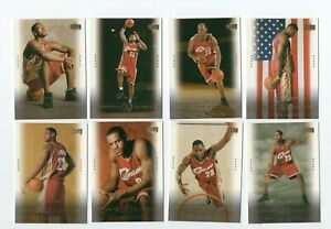 2003-04 Upper Deck Lebron James Fabulous Freshman Lot of eight cards 23-30